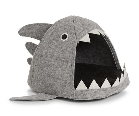 Pelíšek pro domácí mazlíčky Shark Grey