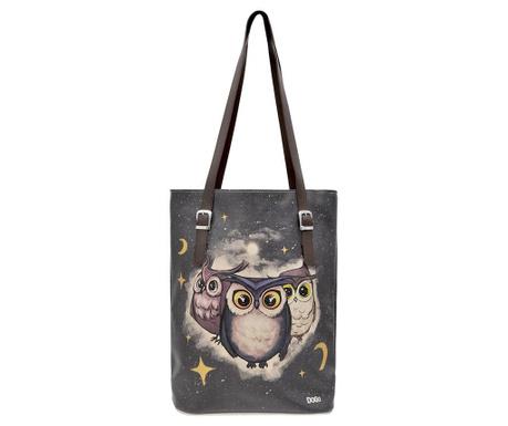Geanta Owls Family