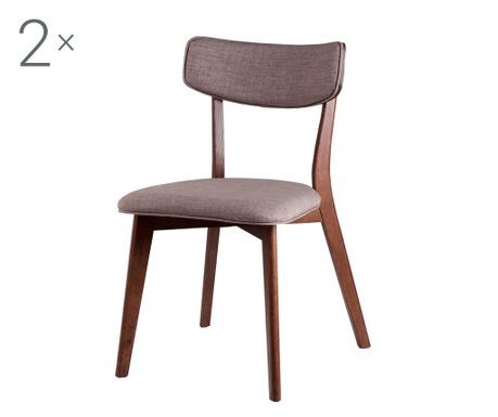 Комплект 2 стола Lina Light Grey