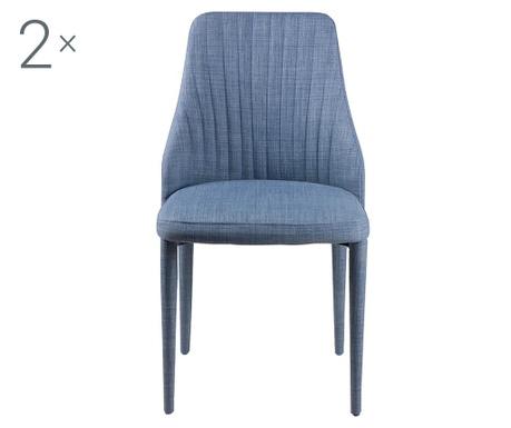 Комплект 2 стола Dora Light Blue