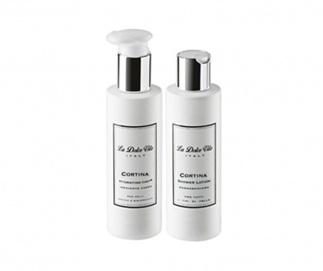 Cortina Beauty Kit Hidratáló testápoló és tusfürdő