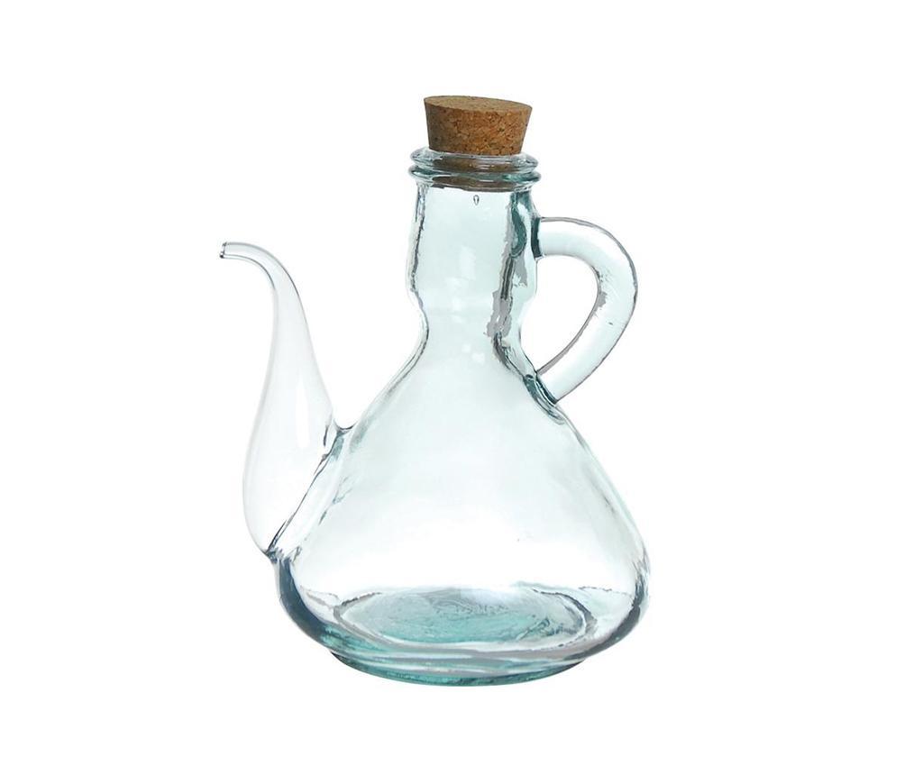 Pot Transparent Tárolóüveg olajnak vagy ecetnek 500 ml