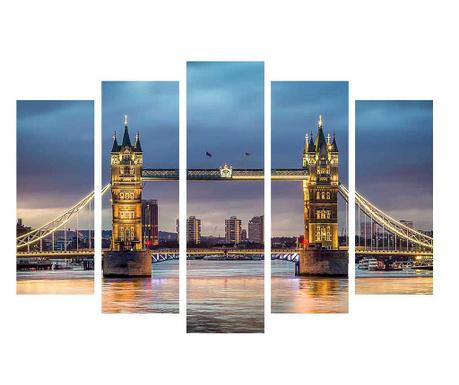 Set 5 tablouri London Lights