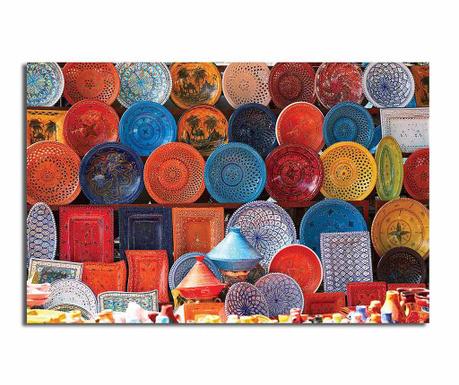 Πίνακας Oriental Plates 45x70 cm