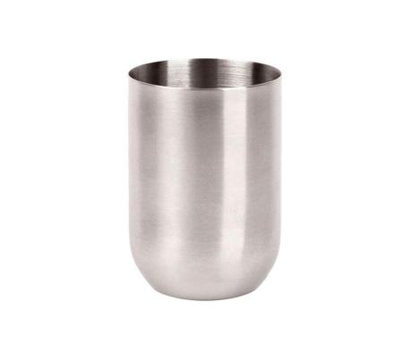 Round Steel Fürdőszobai pohár