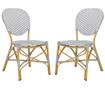 Set 2 scaune Madelein Grey