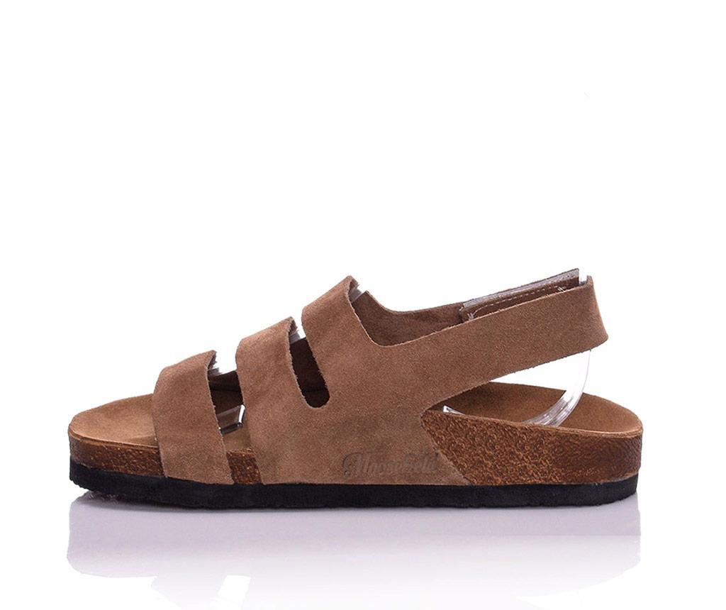 Sandale dama Odele Extra Light Brown 36