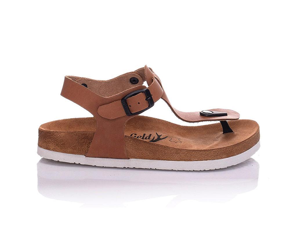 Sandale dama Cecile Light Brown 38
