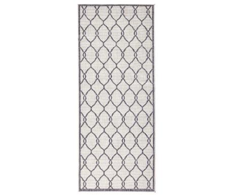 Twin Rimini Grey Cream Kültéri szőnyeg 80x350 cm