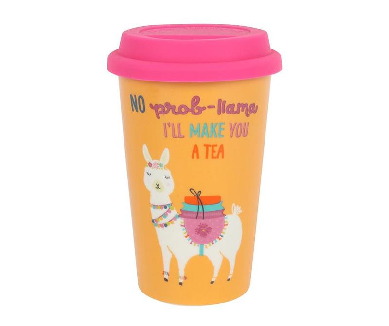 Cestovní hrnek Llama Tea 350 ml