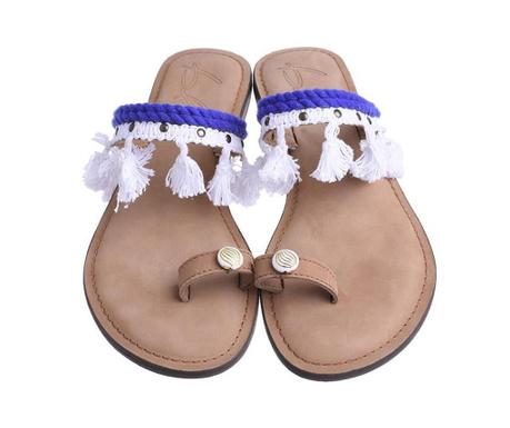 Ženske papuče Litsa Blue