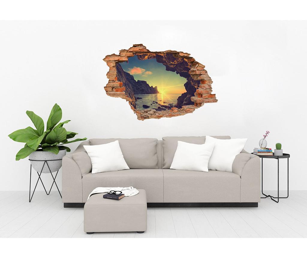 Naljepnica 3D Coucher de Soleil