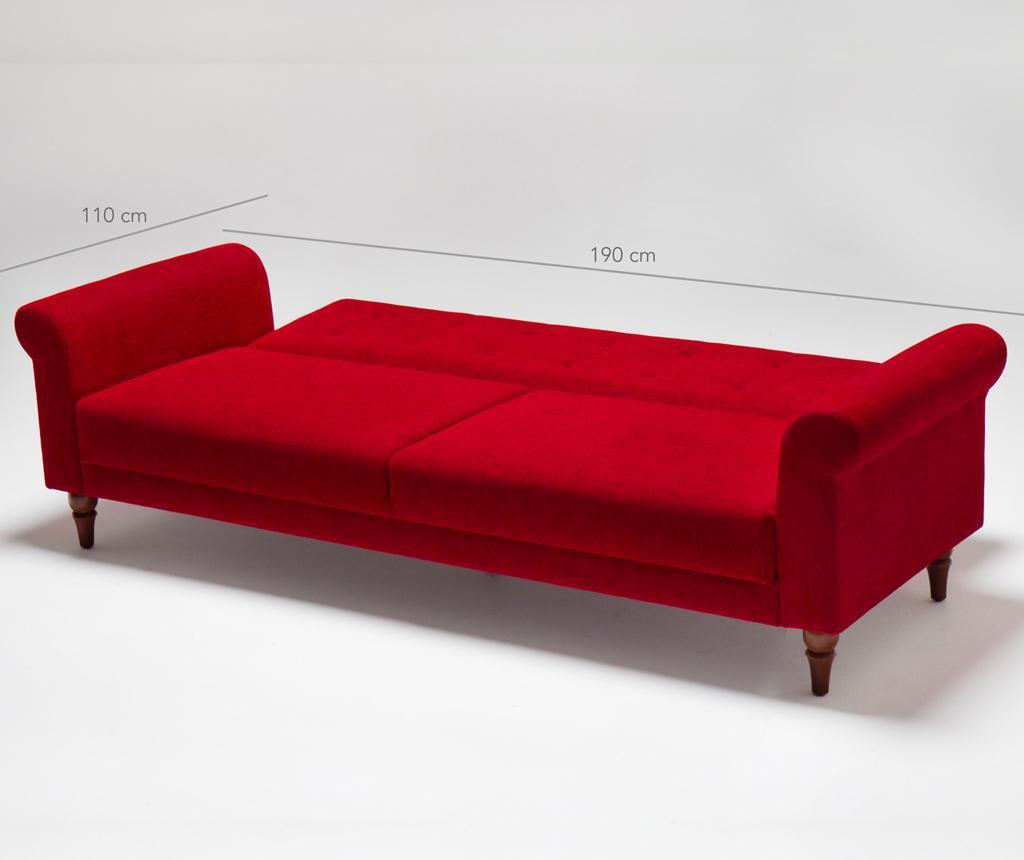Kauč trosjed na razvlačenje Madona Red