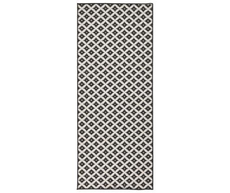 Venkovní koberec Twin Nizza Black Cream