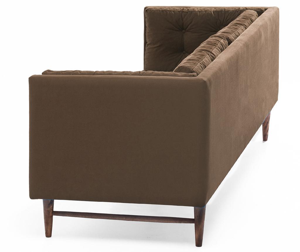 Canapea 3 locuri Point Brown