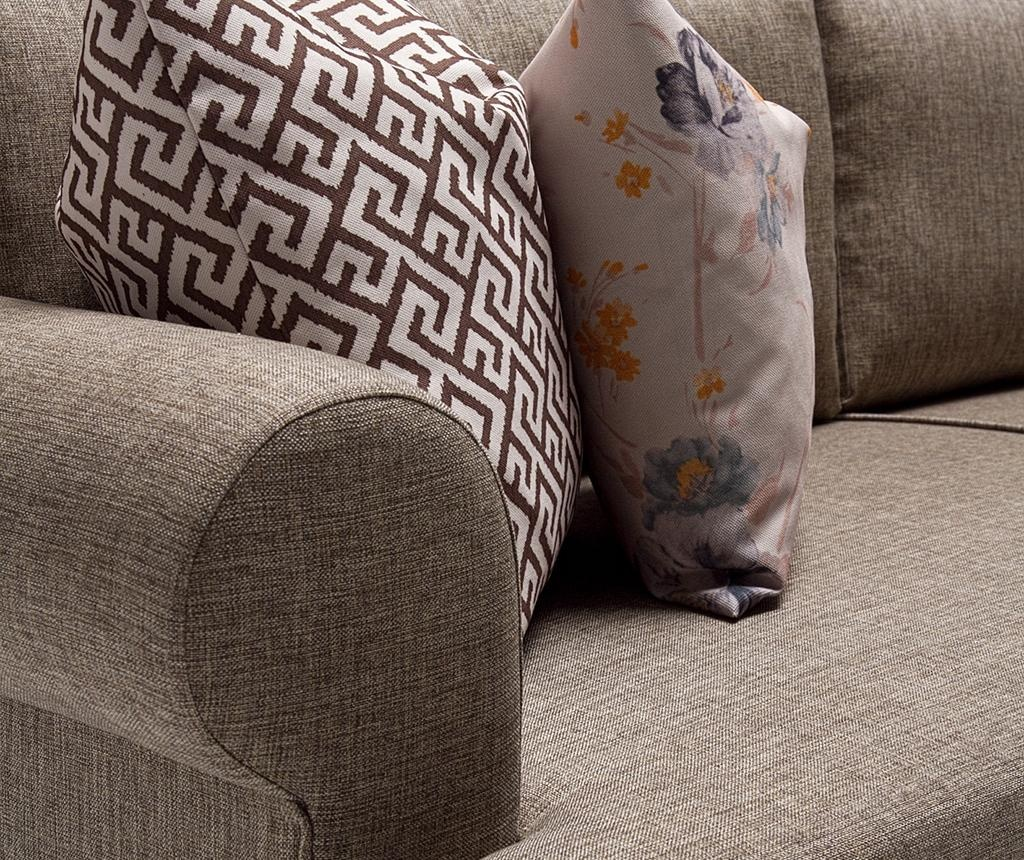 Canapea 3 locuri Samara Brown