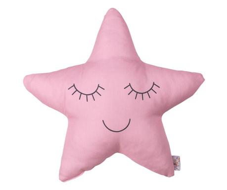 Perna decorativa Twinkle Star Pink 35x35 cm