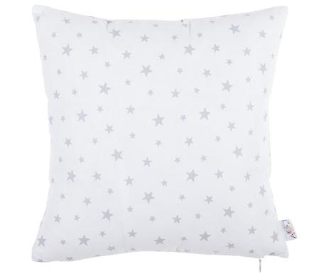 Fata de perna Sky Star White and Grey 35x35 cm