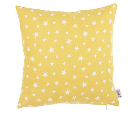 Fata de perna Sky Star Yellow and White 35x35 cm