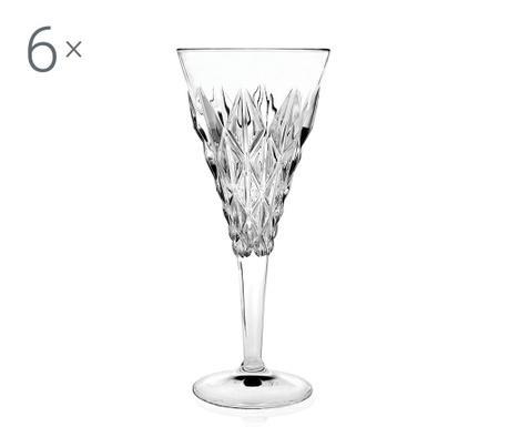 Set 6 čaša s nogom Enigma 360 ml