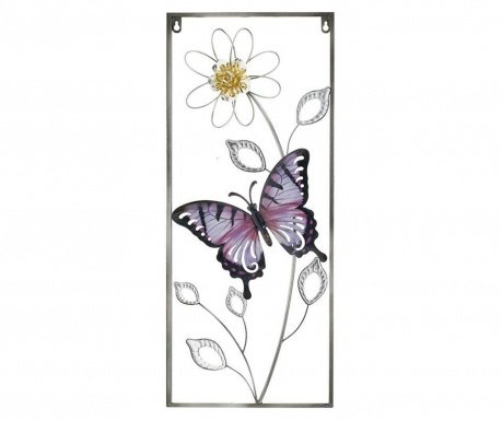 Decoratiune de perete Butterfly Purple