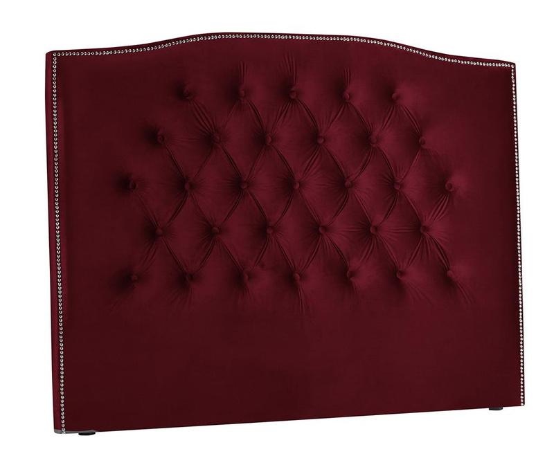Tablie de pat Cloves Red Wine 180 cm
