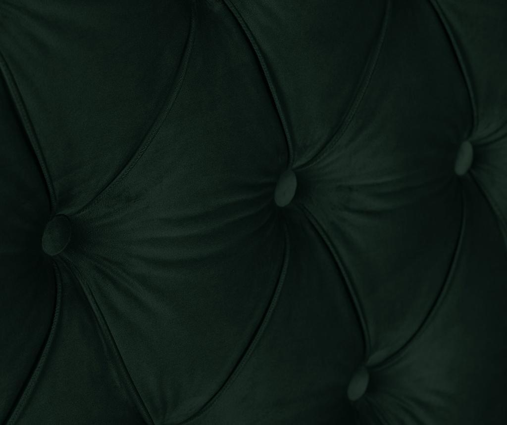 Tablie de pat Daisy Bottle Green 200 cm