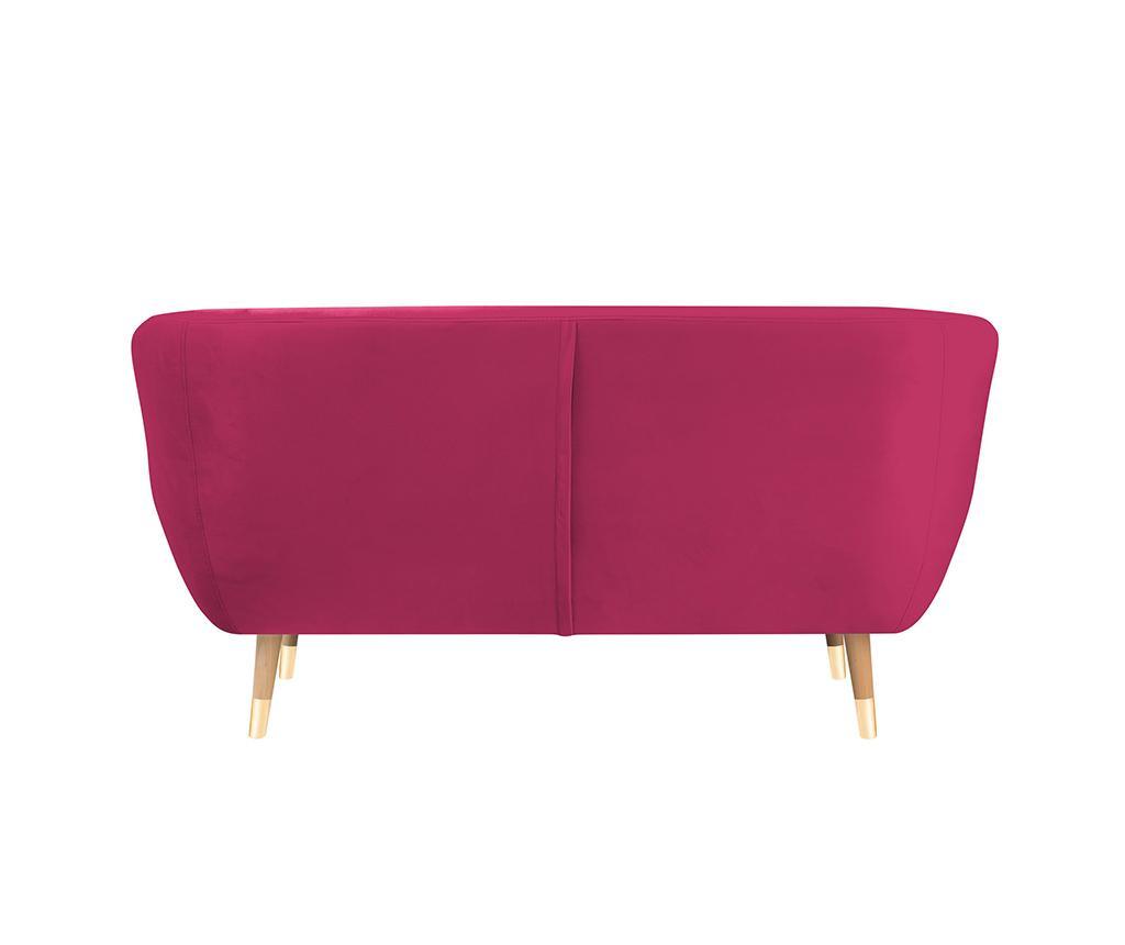 Amelie Pink Natural Kétszemélyes kanapé