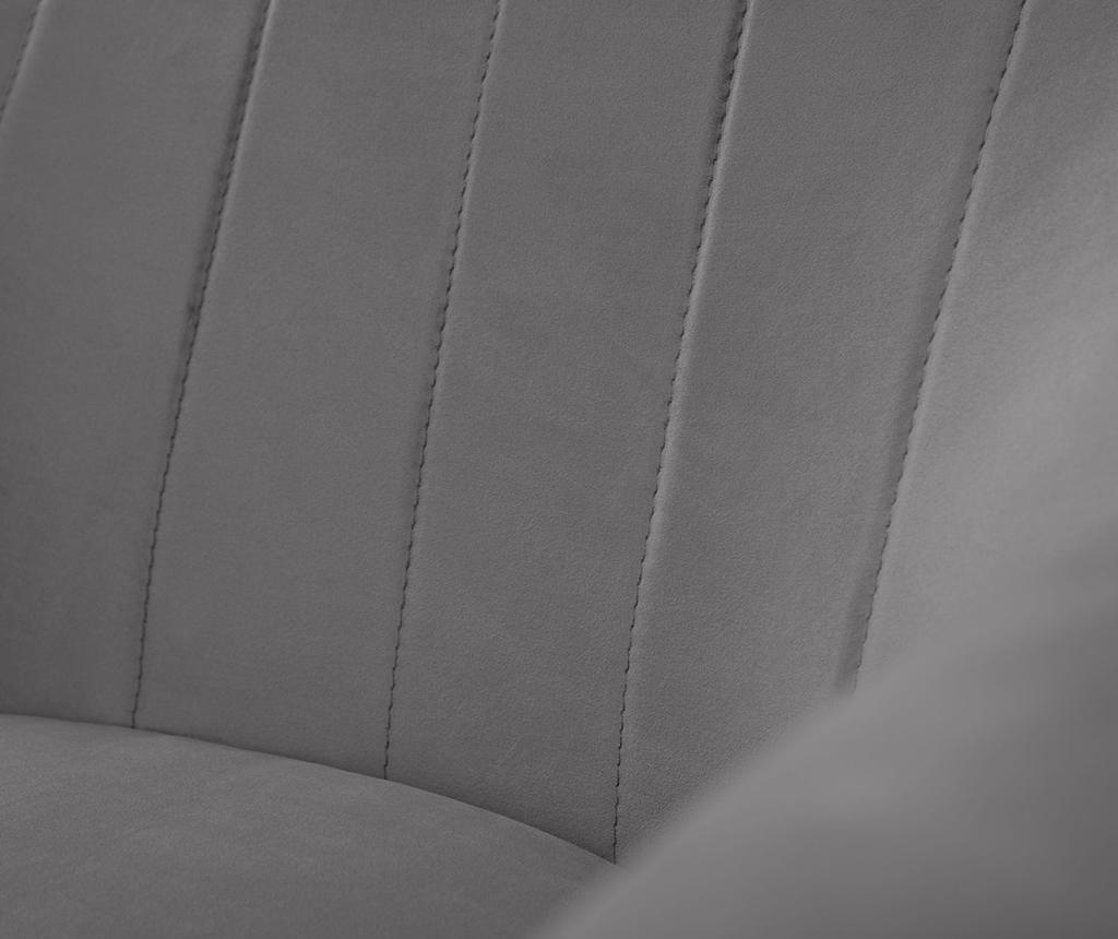 Fotelj Benito Dark Grey Natural