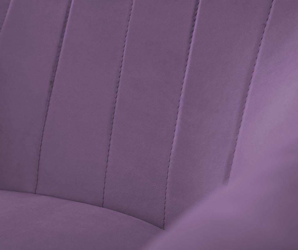 Fotelja Benito Violet Natural