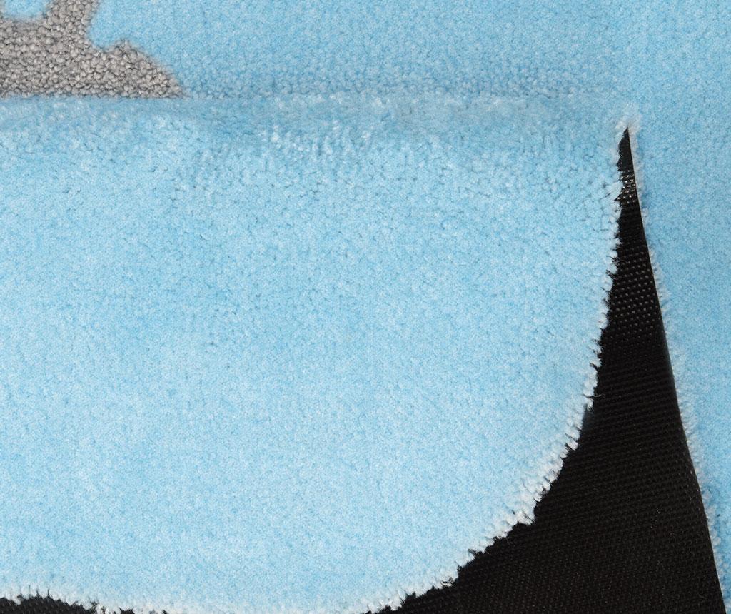 Covor Kingdom Pax Blue Grey 67x120 cm