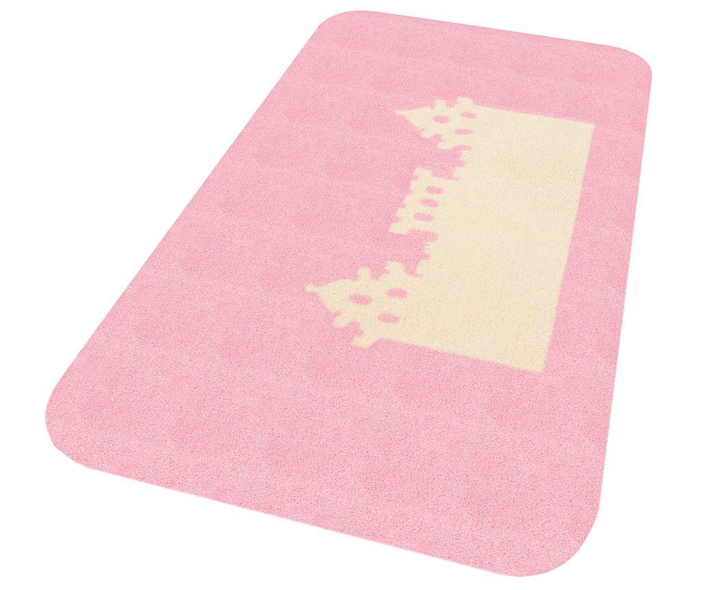 Covor Kingdom Pax Pink Cream 67x120 cm