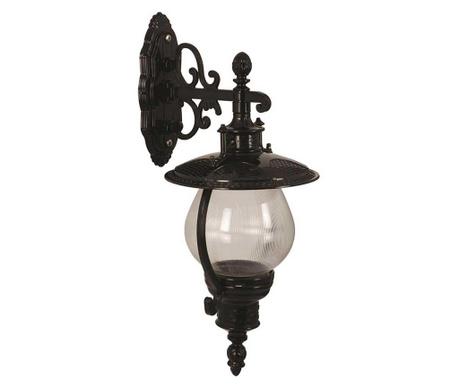 Zidna svjetiljka za vanjski prostor Nala Down Black