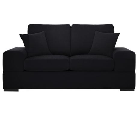 Dasha Black Kétszemélyes kanapé