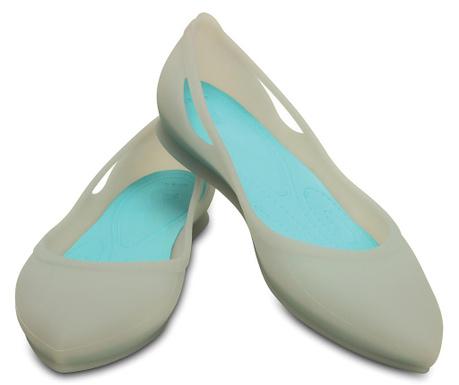 Crocs Rio Platinum Női balerina cipő 34-35