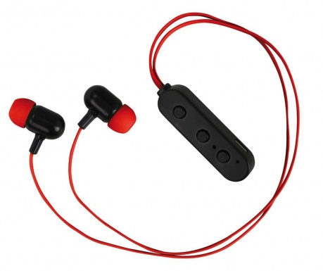 Casti Bluetooth wireless cu microfon Mira Red