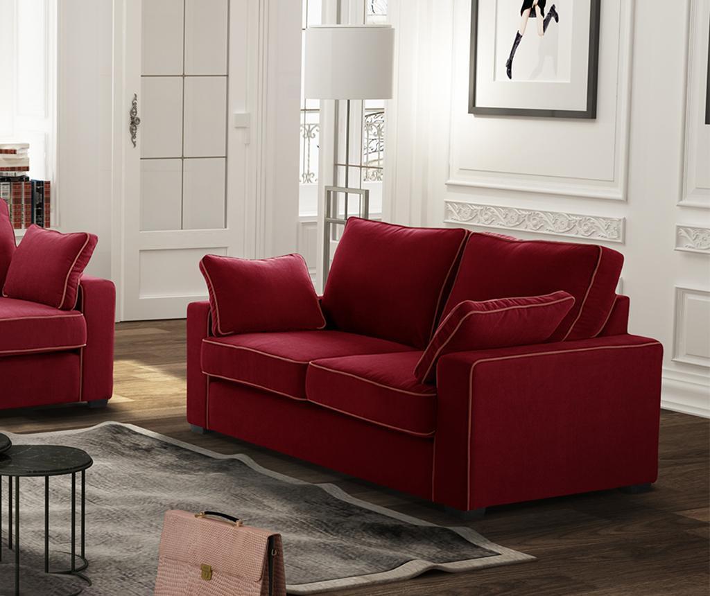 Kauč dvosjed Serena Glamour Red