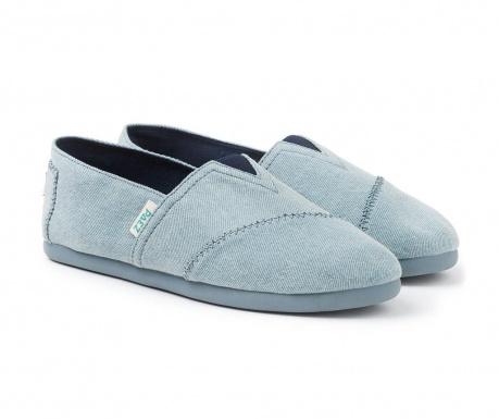 Espadrile dama Original Color Block Blue Denim 40