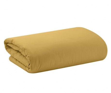Prevleka za prešito odejo Basic Mustard 240x220 cm