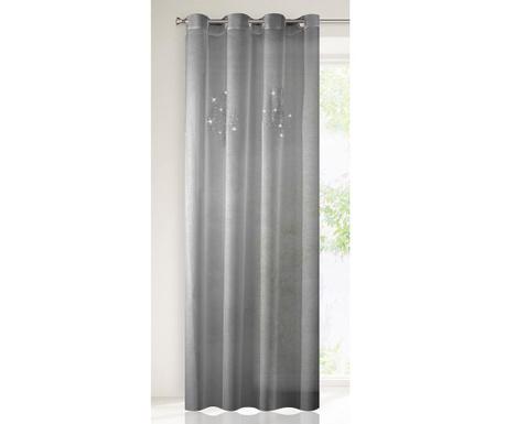 Perdea Yvette Steel 140x250 cm