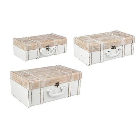 Zestaw 3 kufrów Nilson