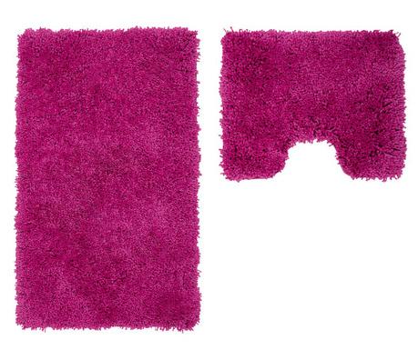 Zestaw 2 dywaników łazienkowych My Cosmopolitan Purple
