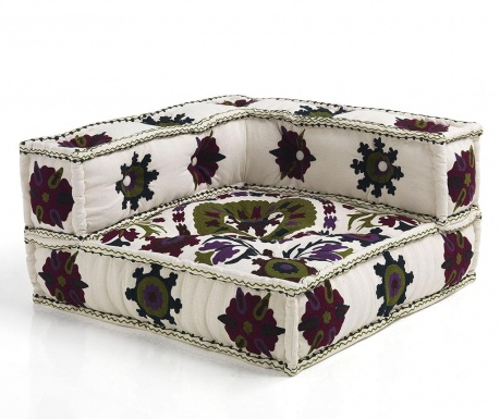 Jastuk za sjedenje Yantra White