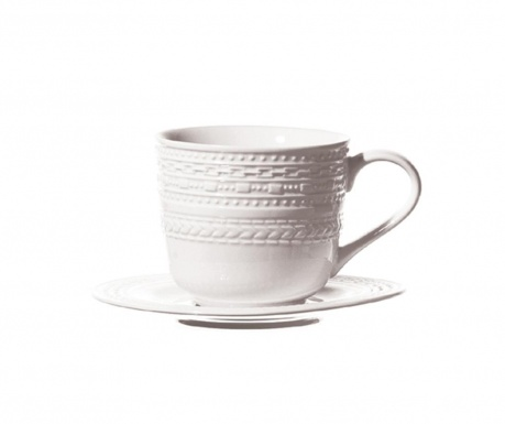 Set ceasca si farfurioara Casale Rim Tea