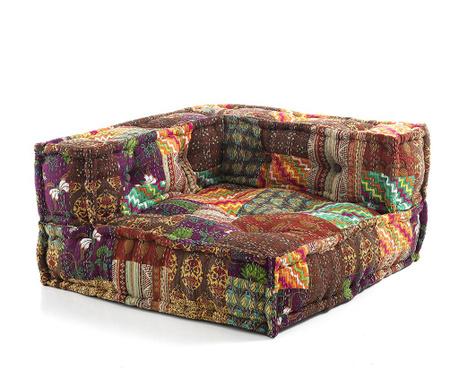 Jastuk za sjedenje Yantra Flowers