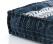 Perna de podea Yantra Blue Beige 80x80 cm