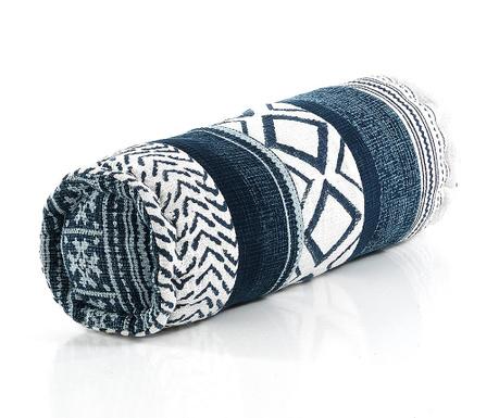 Декоративна възглавница Yantra White Blue Long 50xD18 см