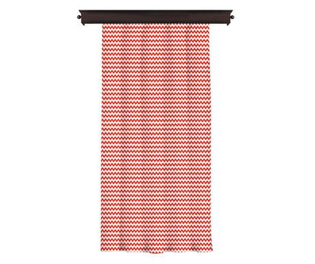 Draperia Border Red 140x260 cm