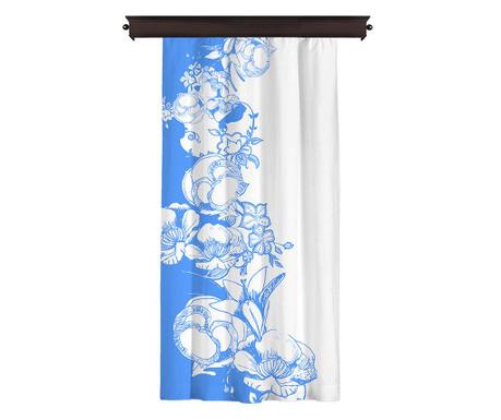 Zastor Efflorescence Blue 140x260 cm