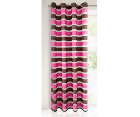 Victoria Pink Brown Sötétítő 140x250 cm